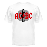 Футболка AC DC Ангус Янг 1