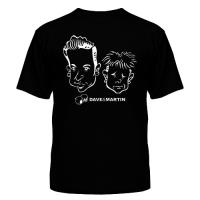 Футболка Depeche Mode - Dave & Martin 2