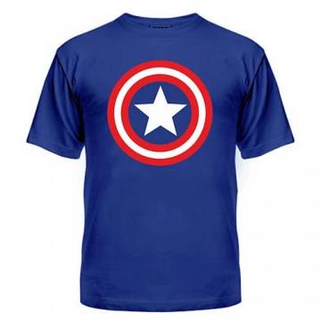 Футболка Капитан Америка лого