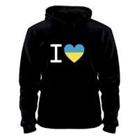 Кофта I Love Ukraine, купить, Украина