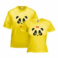 Парные футболки Панды, акционная цена