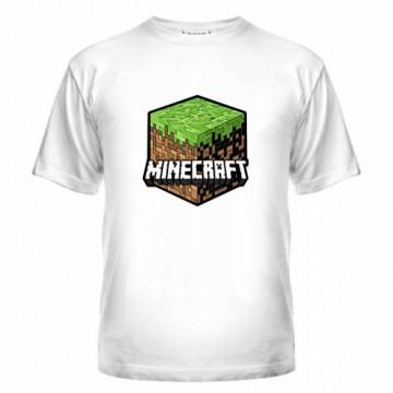 minecraft футболка