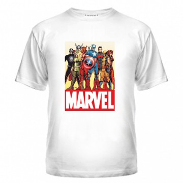 Купить футболку Марвел