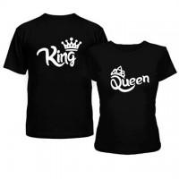 Футболки для двоих King/Queen